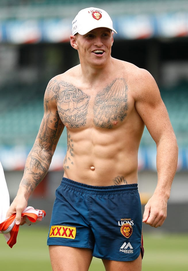 Mitch Robinson has returned to training in ripping nick - AFL,Brisbane Lions,Mitch Robinson