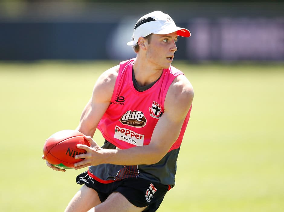 Langlands, Brown, Rowe and Newnes were just some of the Saints who stood out in the VFL. - St Kilda Saints,Richmond Tigers,VFL,Doulton Langlands,Sam Rowe,Jack Newnes,Nathan Brown