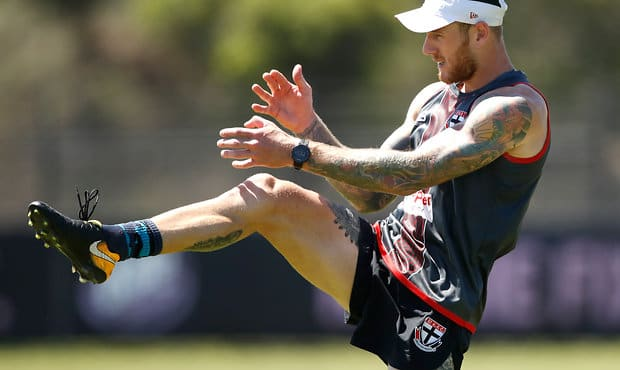 St Kilda spearhead Tim Membrey converted 73.1 per cent of his shots into goals in 2017.