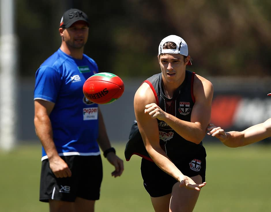 Jack Steele at St Kilda training pre-Christmas - AFL,Injuries,St Kilda Saints,Jack Steele