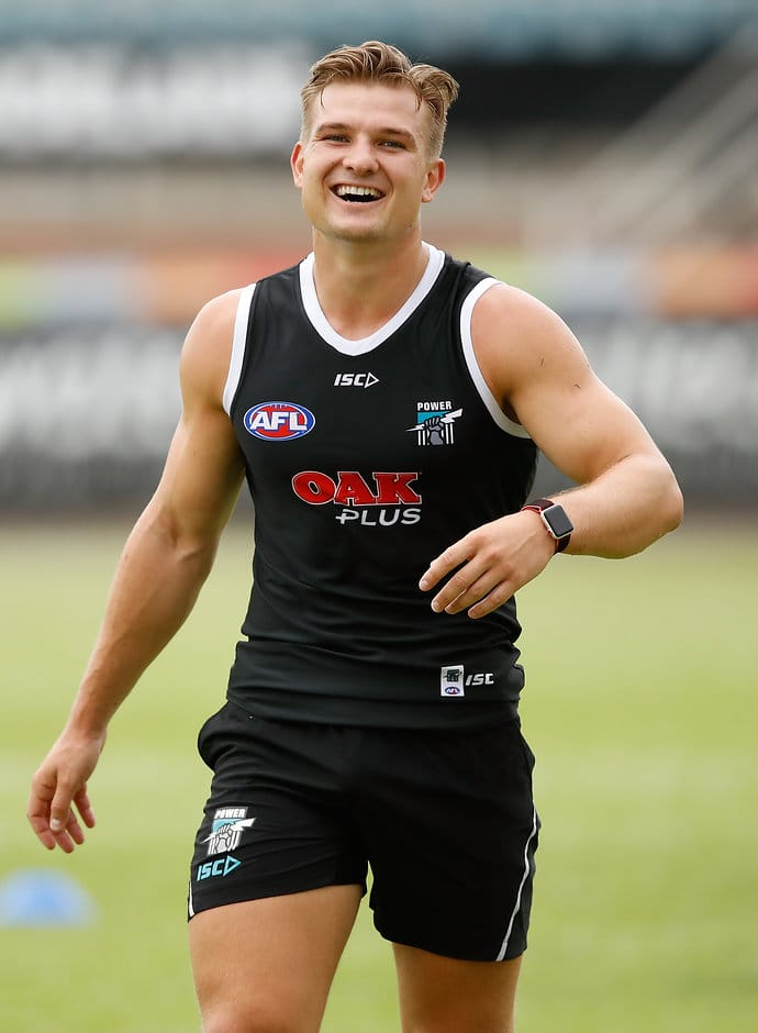 Port Adelaide's star Victorian midfielder is out of contract at season's end - AFL,Port Adelaide Magpies,Ollie Wines,Ken Hinkley,Contracts