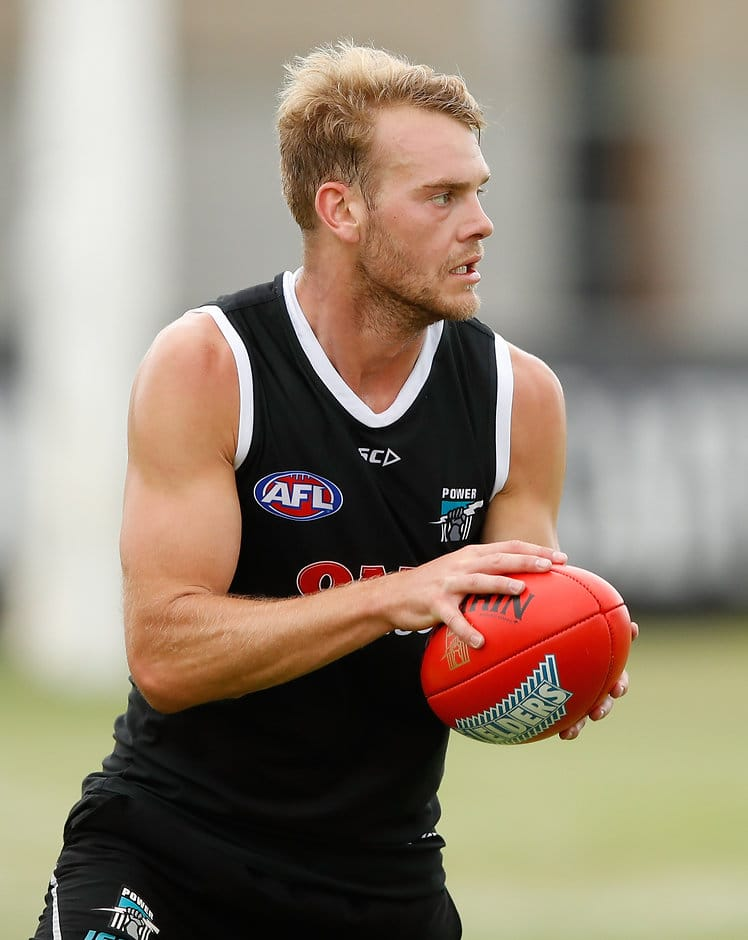 Jack Watts could be deployed into Port's midfield this year - AFL,Port Adelaide,Jack Watts,Robbie Gray