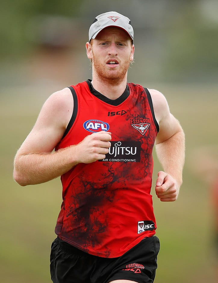 Aaron Francis has taken time away from Essendon - AFL,Essendon Bombers,Aaron Francis