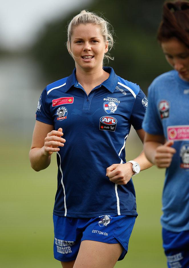 Katie Brennan will captain the Western Bulldogs' AFLW side in 2018 - AFLW,Katie Brennan,Western Bulldogs