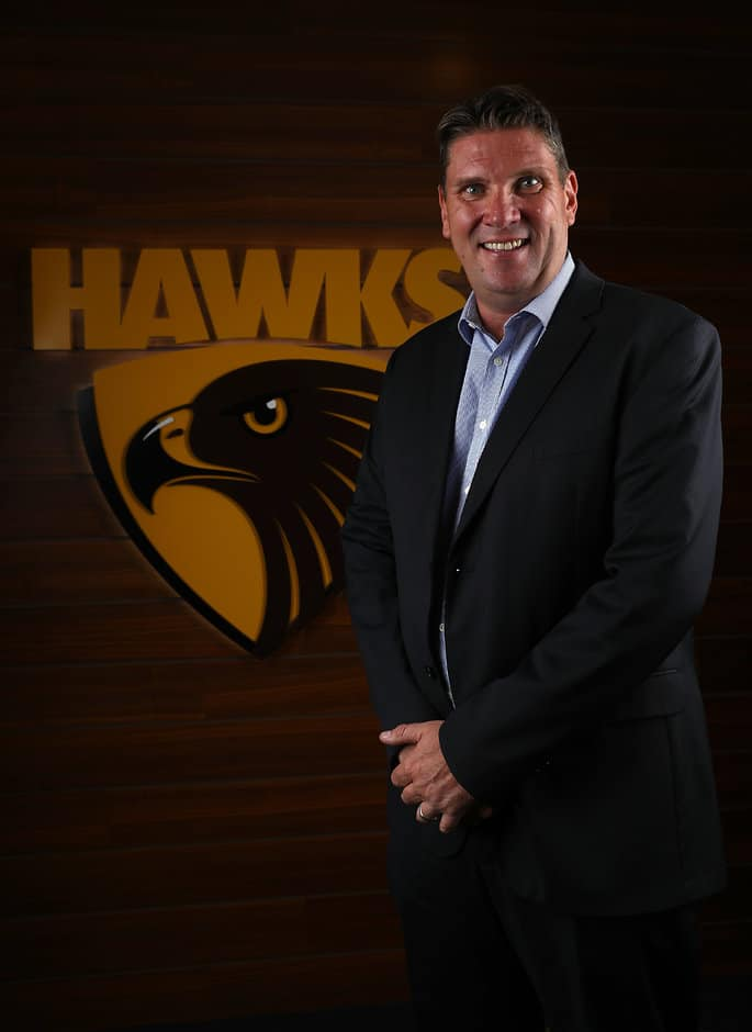 Hawthorn CEO Justin Reeves is bullish about the club's VFLW plans - AFL,AFLW