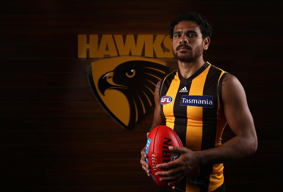 Rioli has returned to Darwin to spend time with family. - Cyril Rioli