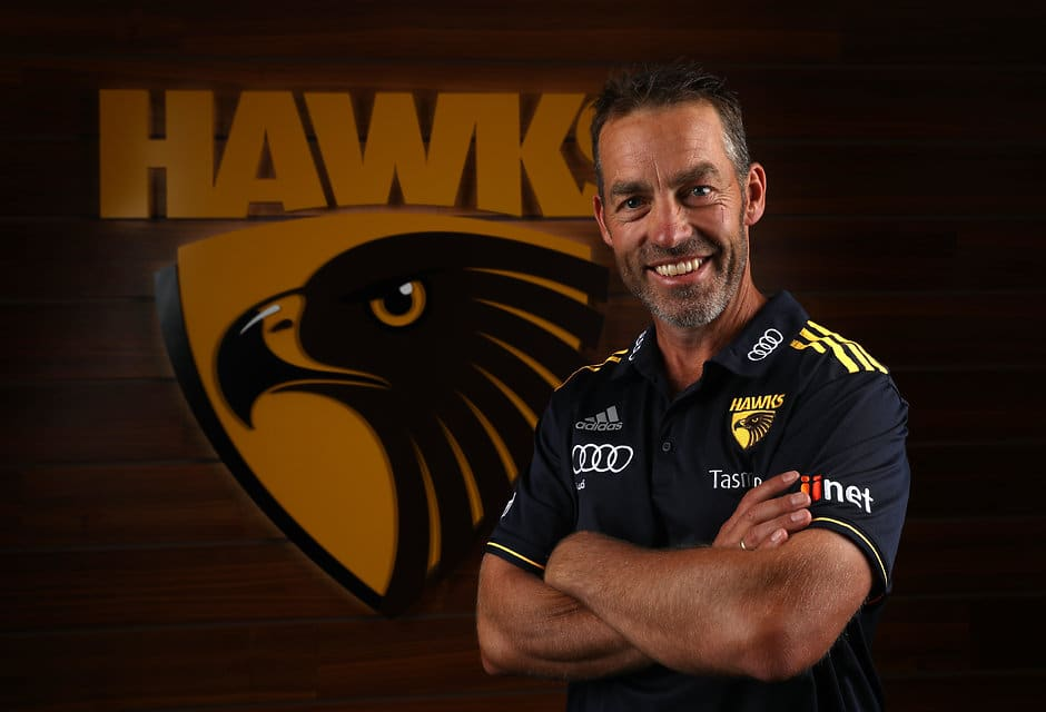Hawthorn coach Alastair Clarkson - AFL,Hawthorn Hawks,Alastair Clarkson,Jeff Kennett