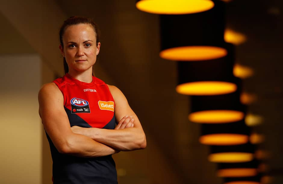 Daisy Pearce and her partner Ben are expecting twins in March - AFLW,Melbourne Demons,Daisy Pearce