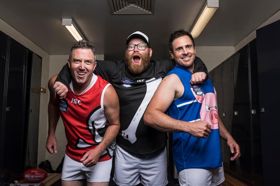 The Traders completely dominated the AFL.com.au Fantasy Draft, say The Traders - AFL,Fantasy