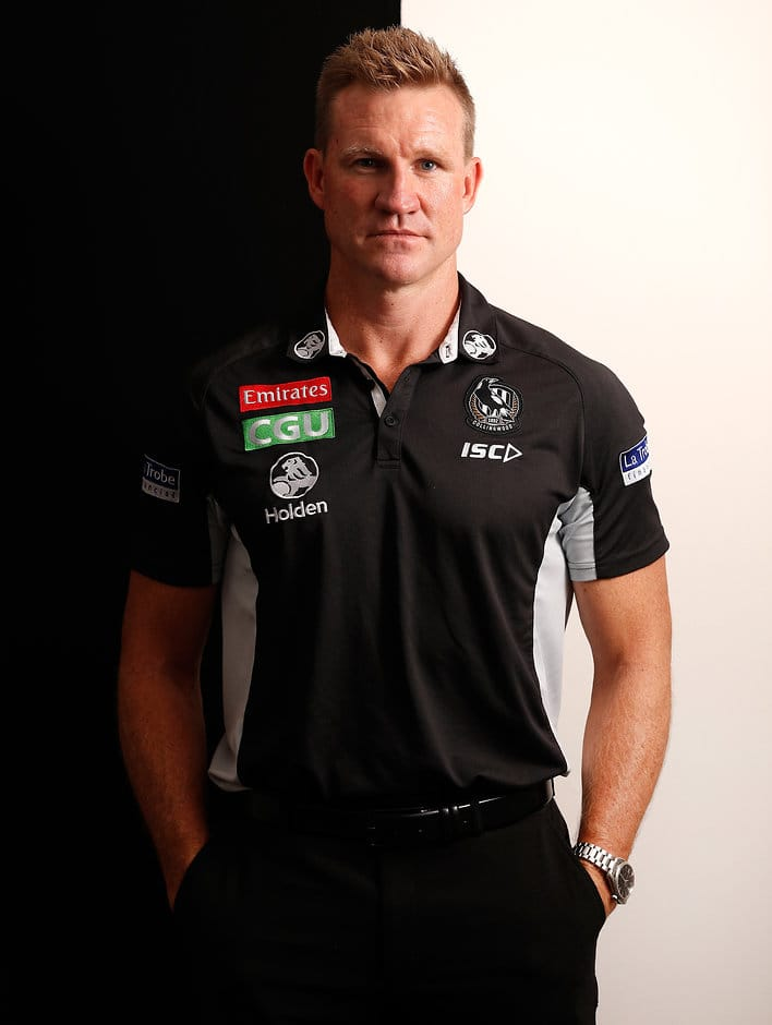 Collingwood coach Nathan Buckley - AFL,Collingwood Magpies,Nathan Buckley