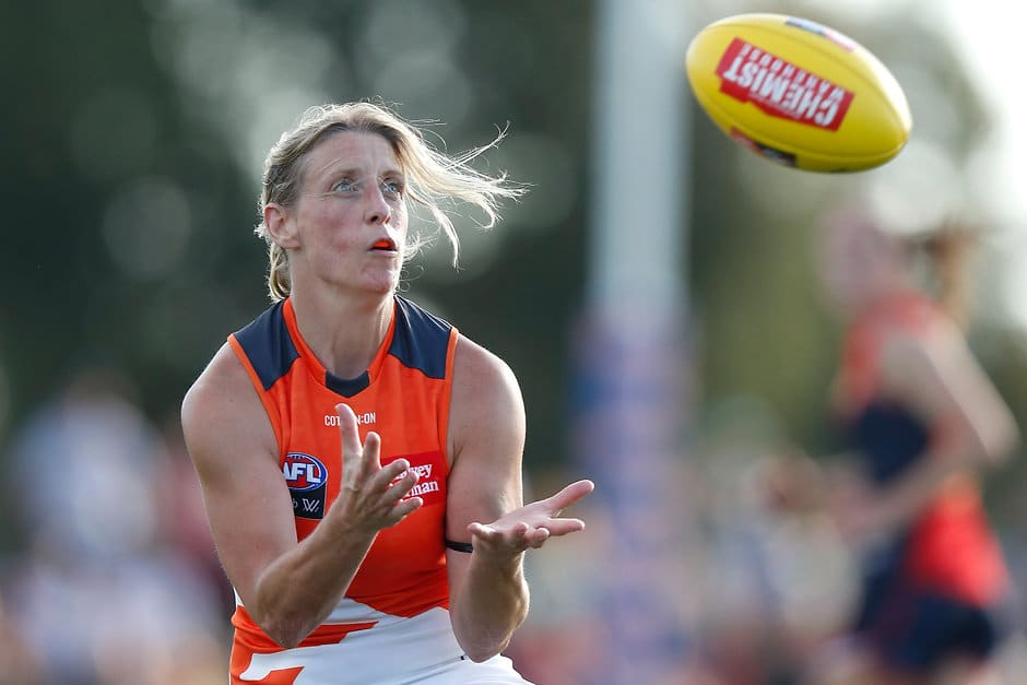 Cora Staunton has been a pioneer for Irish players in the AFLW - AFLW,Cora Staunton,GWS Giants