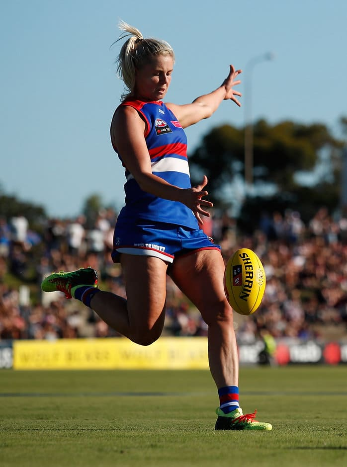 Bulldogs captain Katie Brennan has accepted a reprimand after being cited by the MRP - Western Bulldogs,AFLW,Katie Brennan