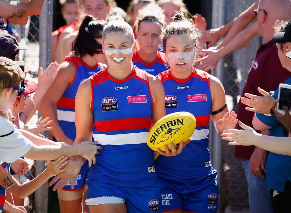 The Western Bulldogs will play four home games in 2019, against Geelong, Brisbane, Melbourne and Carlton. (Photo: AFL Media) - Western Bulldogs,AFLW