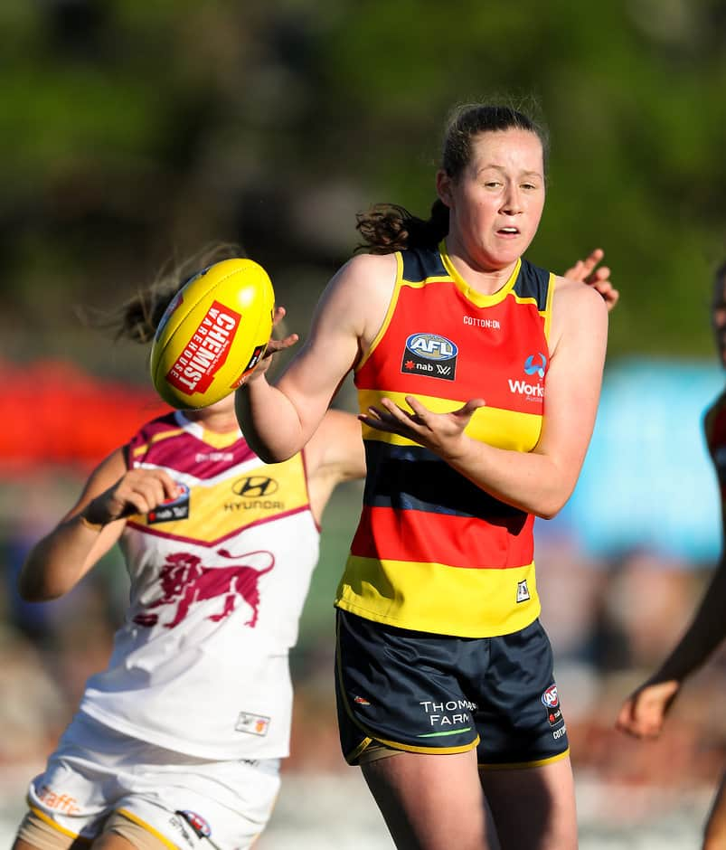 Jess Allan won't play for Adelaide in 2019 for personal reasons - AFLW,Jessica Allan,Ruth Wallace,Daisy Pearce,Sophie Li