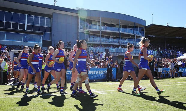 Each team will play seven home and away games, with the season starting on the first weekend of February. - Western Bulldogs