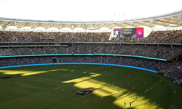 More than 41,000 fans turned up for Freo's win against the Pies on Saturday afternoon at Optus Stadium.