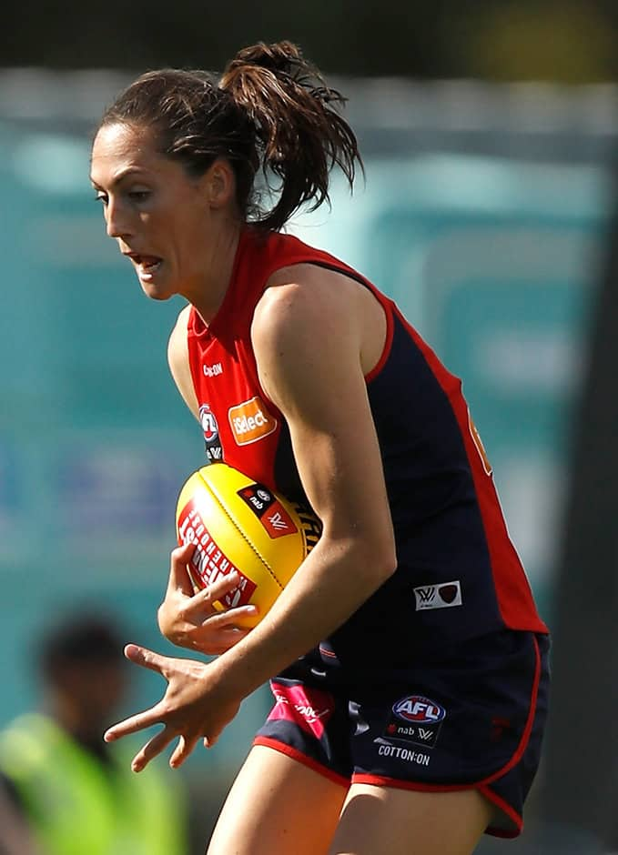Demon Meg Downie - AFLW,Melbourne Demons,Meg Downie
