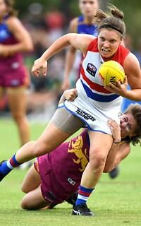 AFLW 2018 Rd 02 - Brisbane v Western Bulldogs