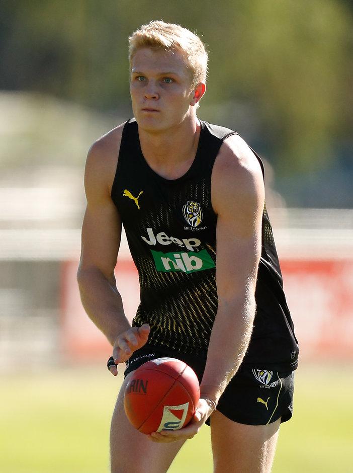 Rookie Ryan Garthwaite's manager has entered contract talks with the club - AFL,Richmond Tigers,Ryan Garthwaite