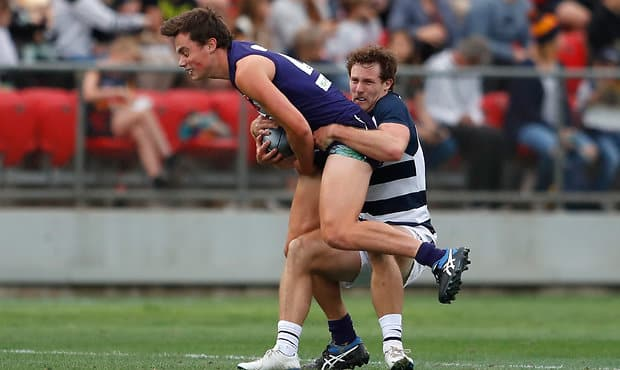 Tom North was thankful to the captain for his opportunity in AFLX.  - Fremantle Dockers,Tom North