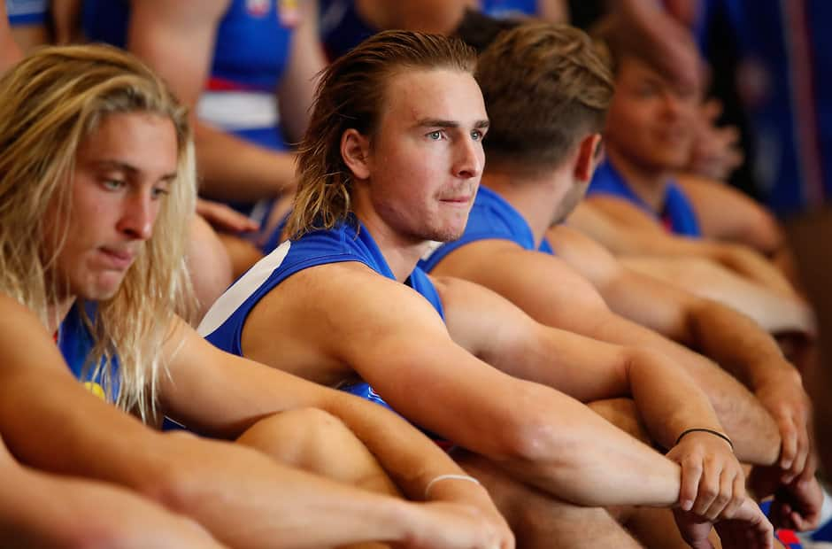 Mitch Honeychurch stayed with the Dogs despite an offer from the Giants - AFL,Western Bulldogs,Mitch Honeychurch,Injuries