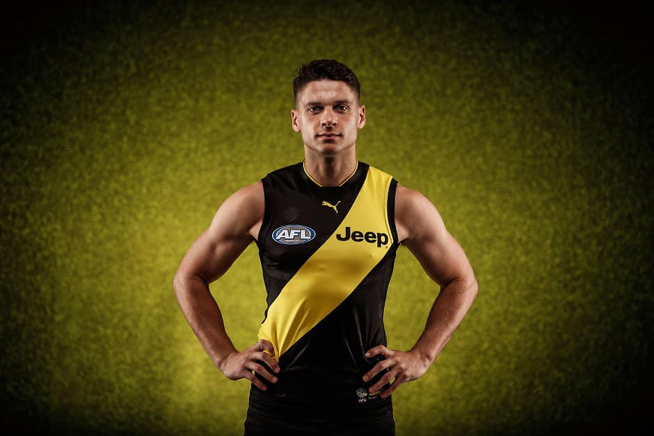 Dion Prestia will miss the first JLT Community Series clash against Essendon - Dion Prestia,JLT Series