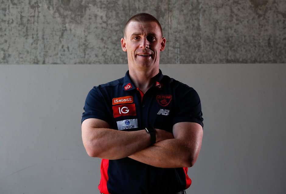 Melbourne coach Simon Goodwin - AFL,Melbourne Demons,Simon Goodwin