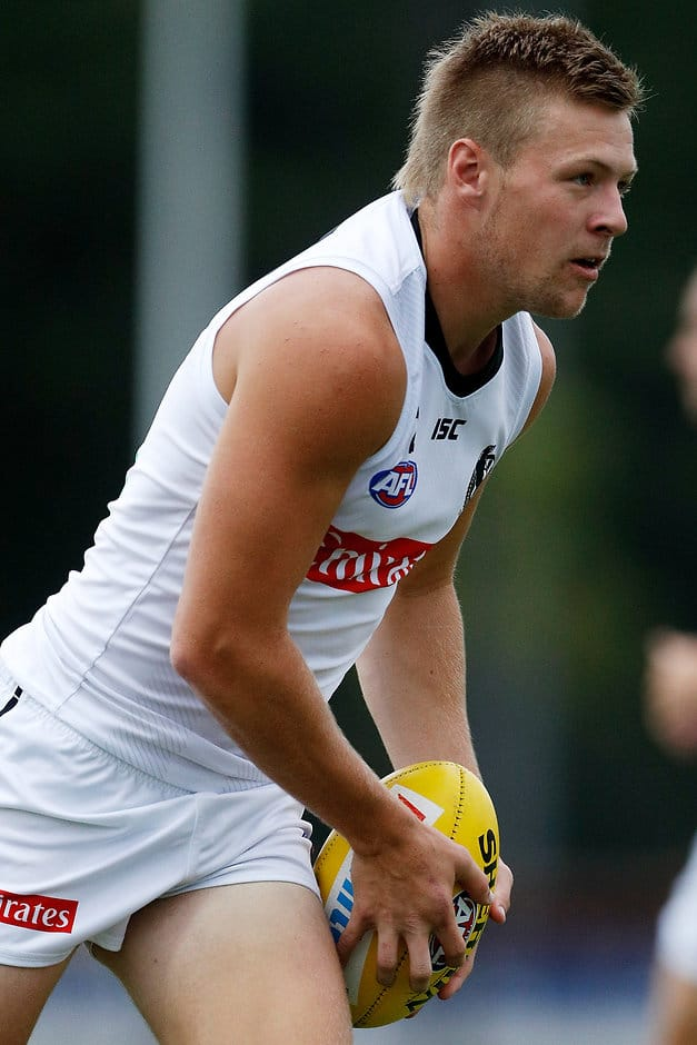 Jordan De Goey will now take part in 'office-bound work' - AFL,Collingwood Magpies,Jordan De Goey