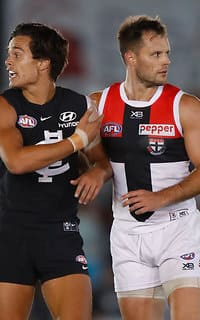 Nathan Brown has quickly become a crucial cog in St Kilda's spine.