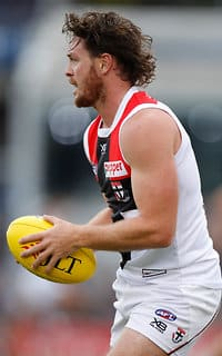 St Kilda ace Jack Steven is on track to take his place in the all-important Round 1 clash against the Lions. - Jack Steven,St Kilda,Brisbane Lions,St Kilda Saints,Simon Lethlean,David Armitage