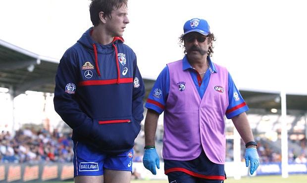 Liam Picken may make trip to Moe despite last weekend's concussion. (Photo: AFL Media) - Western Bulldogs,Liam Picken
