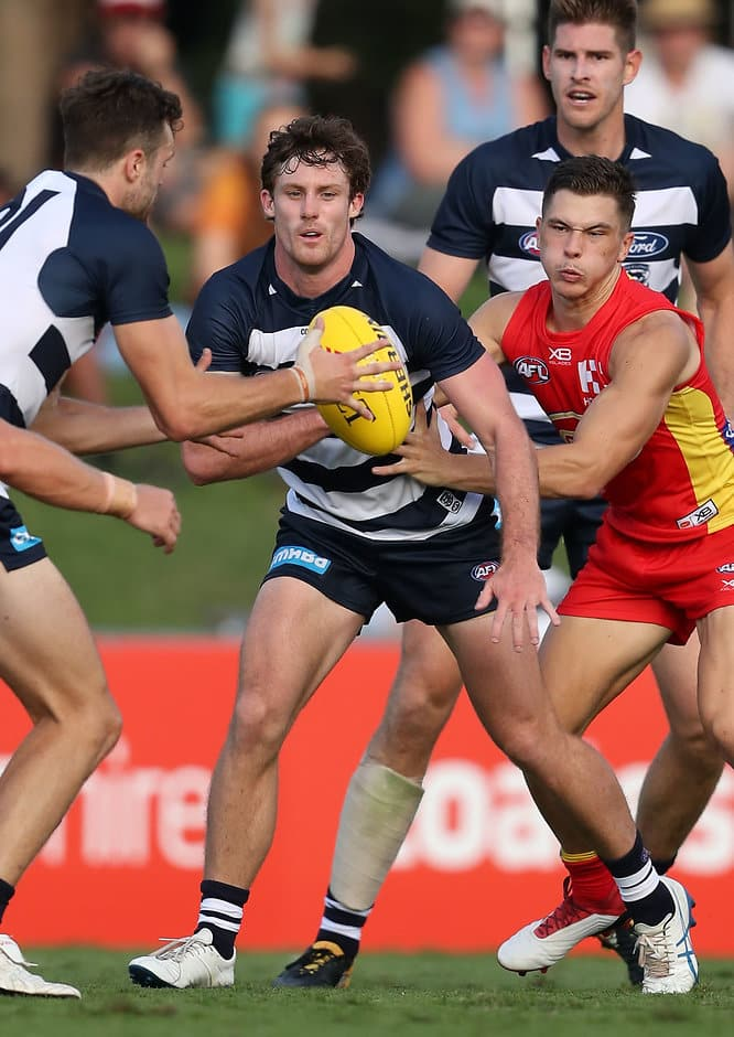 Jed Bews is looking for continual improvement in 2018 - Geelong Cats,Jed Bews