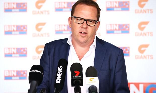AFL 2018 Media - GWS Giants Media Announcement 060318