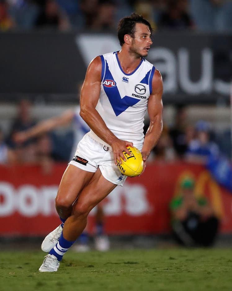 Robbie played out the game on Wednesday night - AFL,North Melbourne,Robbie Tarrant,JLT Series