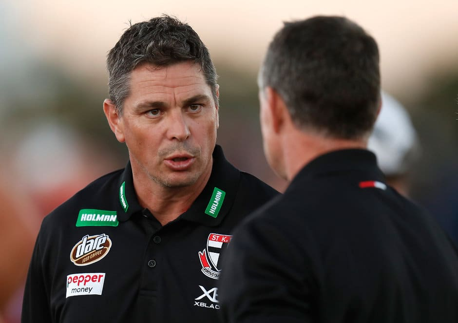 Adam Kingsley is one of the most highly regarded assistant coaches in the system - AFL