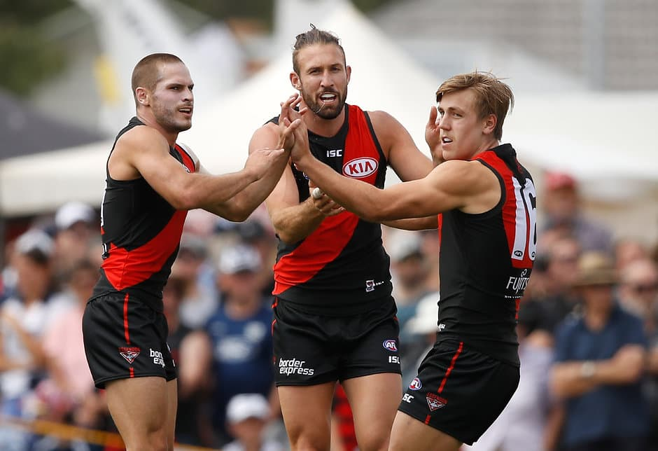 Cale Hooker expects to start as a forward against Adelaide - AFL,Essendon Bombers,Cale Hooker