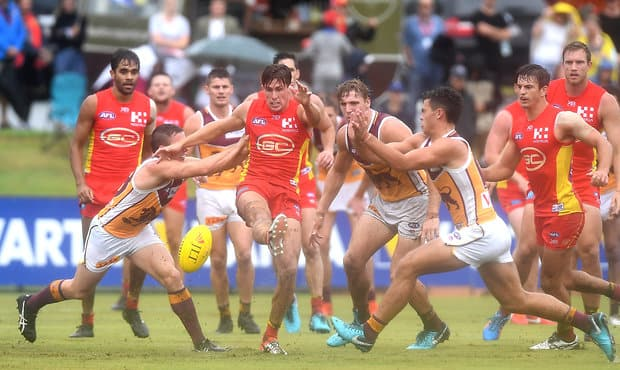 AFL 2018 JLT Community Series - Gold Coast v Brisbane Lions