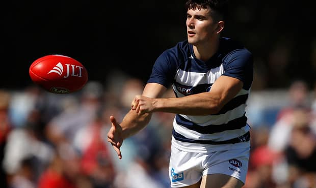 Mark O'Connor is focused on improving his game. - Geelong Cats,Mark O'Connor
