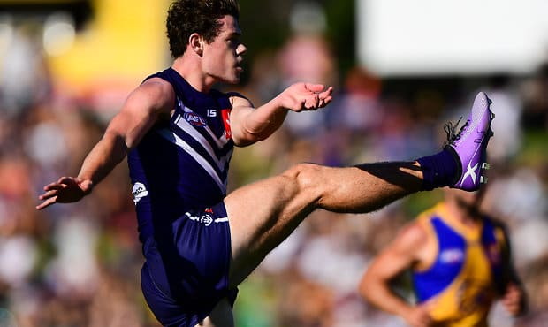 Lachie Neale scored the most AFL Fantasy points for Freo in the JLT Community Series.