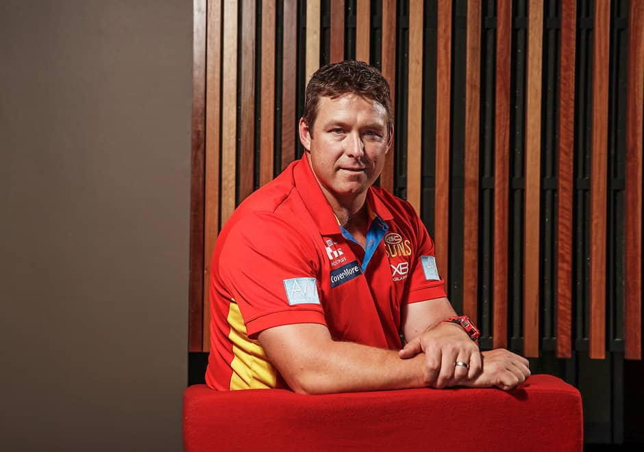 Stuart Dew has taken over a club that was floundering badly last year - AFL,Gold Coast Suns,David Swallow,Gary Ablett