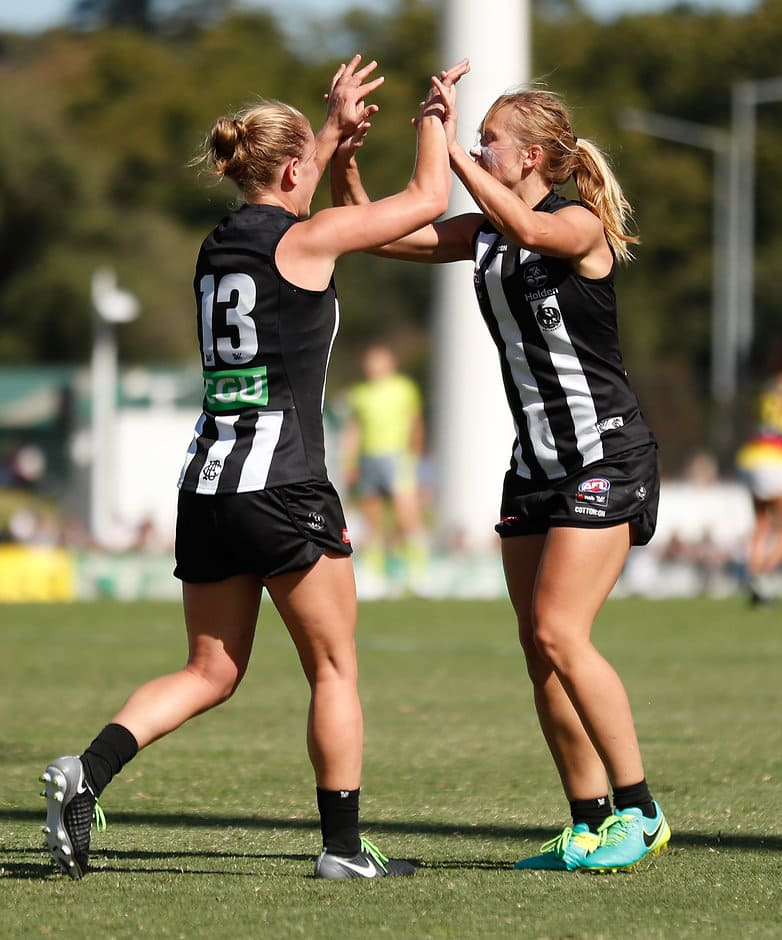 The Magpies ended the Crows' hopes of going back to back - AFLW,Collingwood Magpies,Adelaide Crows