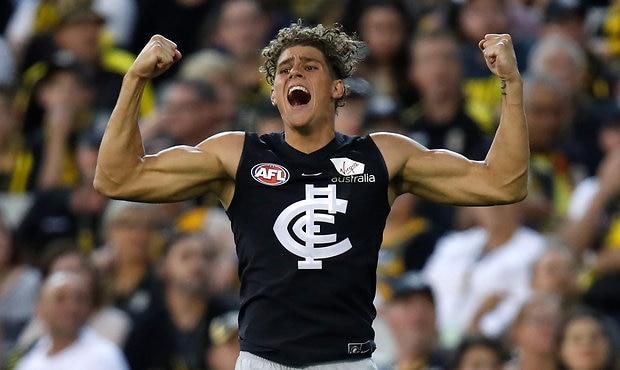 AFL 2018 Round 01 - Richmond v Carlton