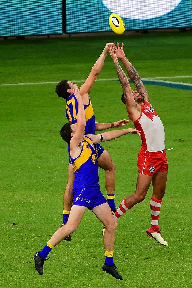 Lance Franklin torched the Eagles in round one - AFL,West Coast Eagles,Tom Barrass
