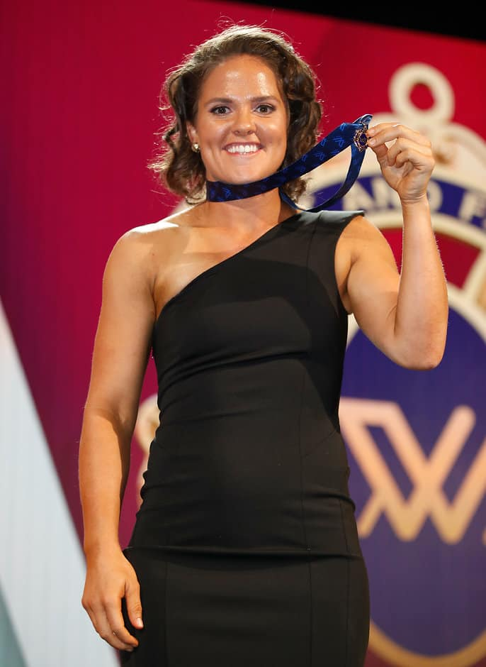 Reigning AFL Women's League best and fairest Emma Kearney will join North Melbourne - AFLW,Western Bulldogs,North Melbourne Kangaroos,Emma Kearney