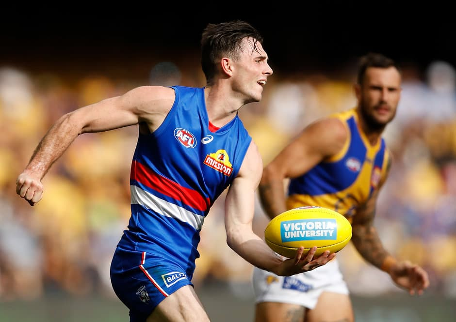 Toby led the Bulldogs' tackles with 126 for the season, averaging 5.7 a game – a career high. - Western Bulldogs