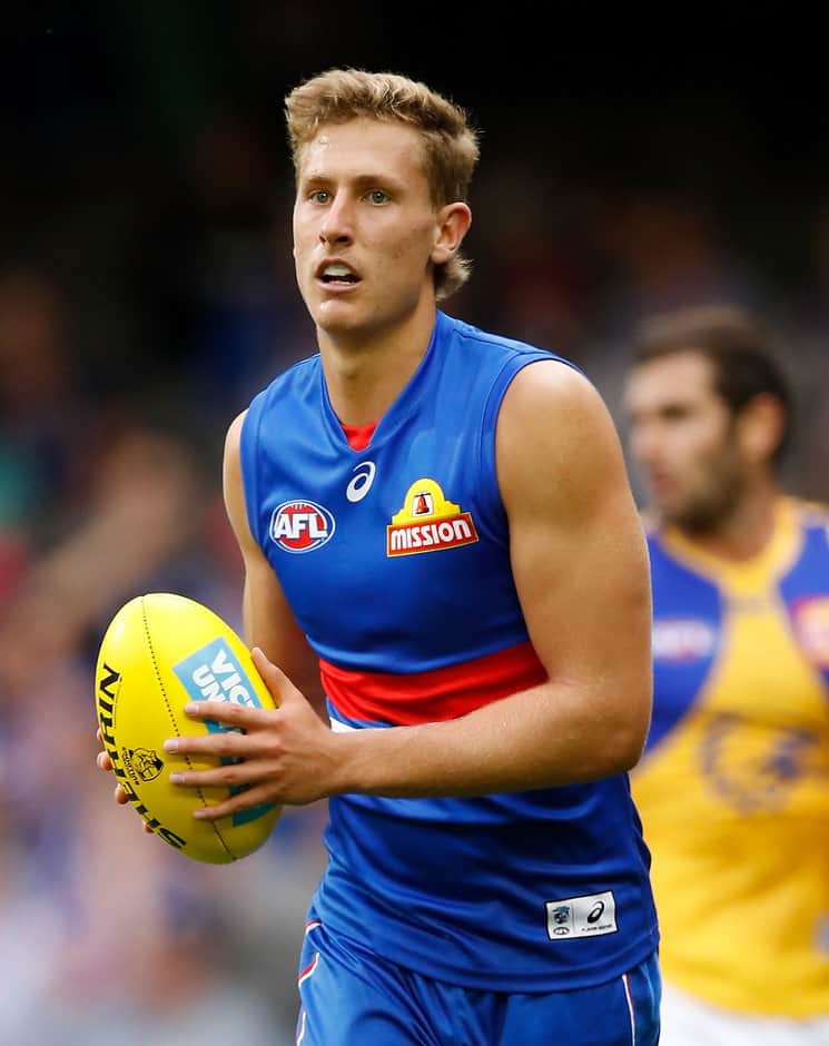 Aaron Naughton has signed a contract extension with the Bulldogs - AFL,Aaron Naughton,Western Bulldogs