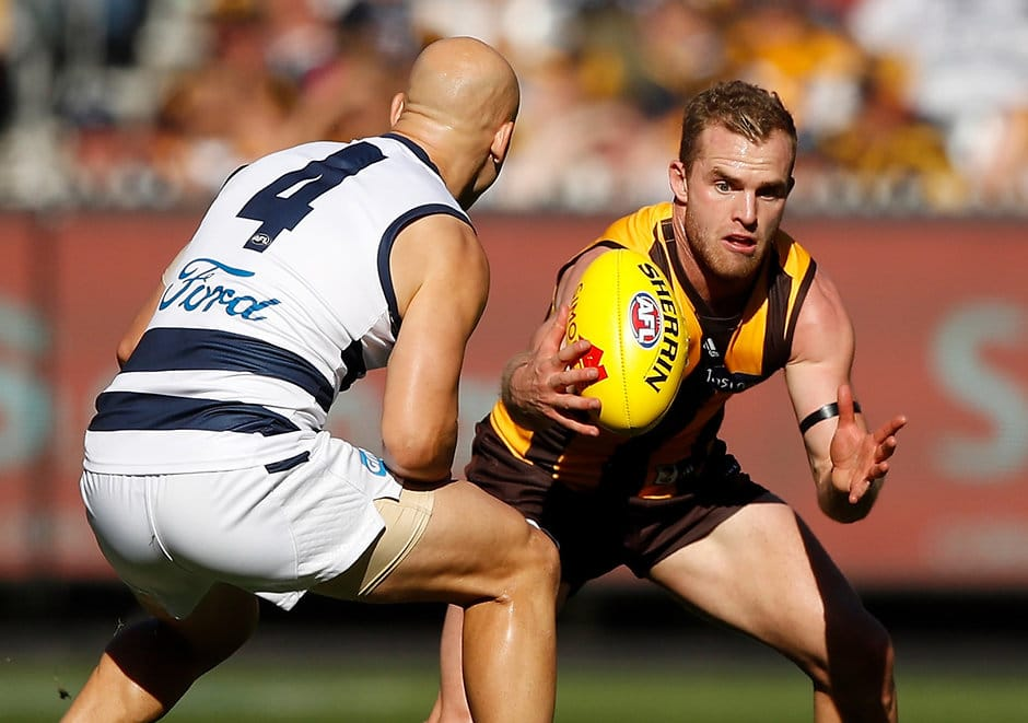 Geelong looks set to tackle Brownlow Medal favourite Tom Mitchell head-to-head - Geelong Cats,Chris Scott