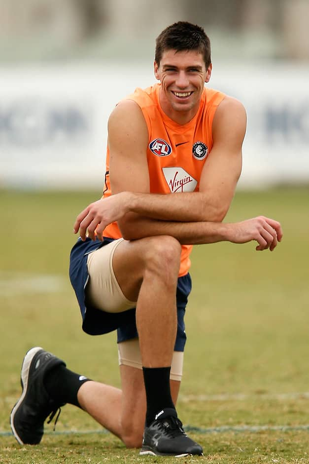 Matthew Kreuzer is a confirmed starter for the Blues - AFL,Carlton Blues,Collingwood Magpies