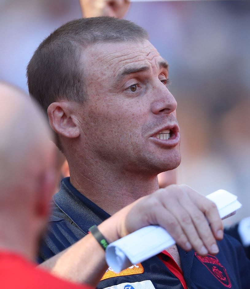 Simon Goodwin needs a response from his players after the big loss to Hawthorn - AFL,Melbourne Demons,Richmond Tigers