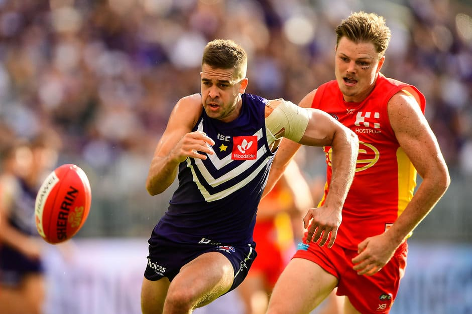 Stephen Hill has been ruled out of Fremantle's trip to the SCG - AFL,Stephen Hill,Michael Walters,Nathan Wilson,Fremantle Dockers